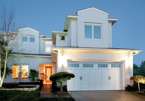 Modern Carriage Garage Door